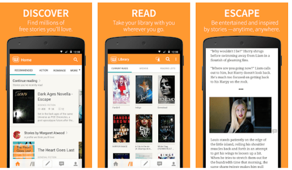 Read free EBooks on Android phone