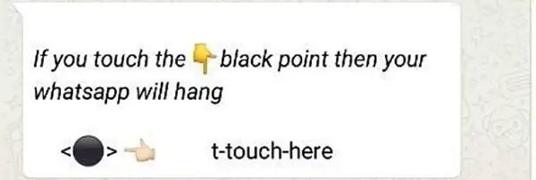 fix the Black Dot Unicode bug on iPhone or iPad