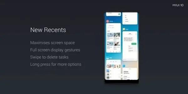 Xiaomi Phones to receive MIUI 10 update