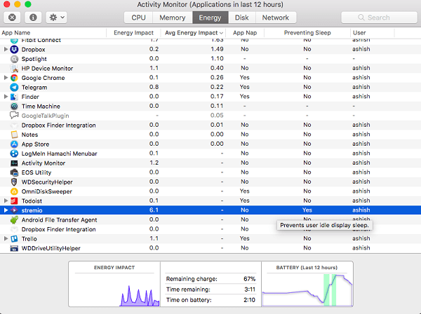Fix Mac doesn't sleep or wake when expected