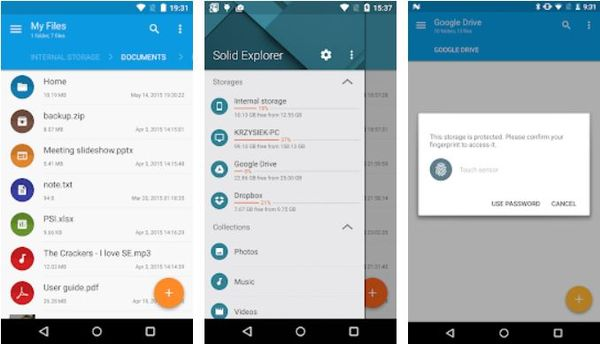 Solid File Manager :  Top Ten Android Apps