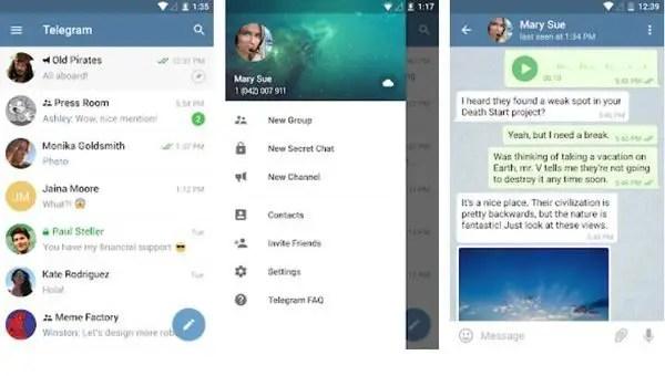 Telegram  Top Ten Android Apps