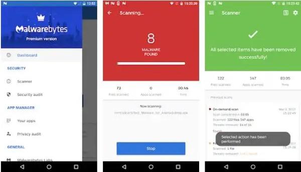 Malwarebytes : Top Ten Android Apps