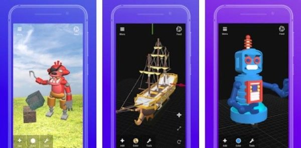 Top 3D Modeling apps Android iOS