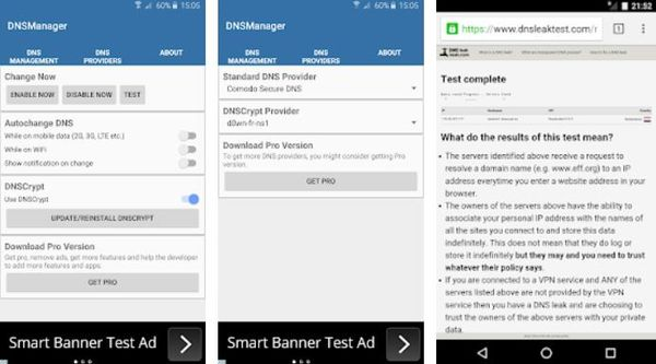 DNS Manager for Android