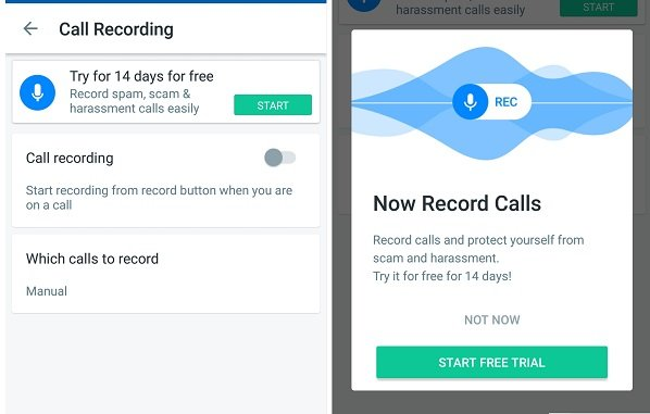 How to Record Calls using Truecaller App in-built feature