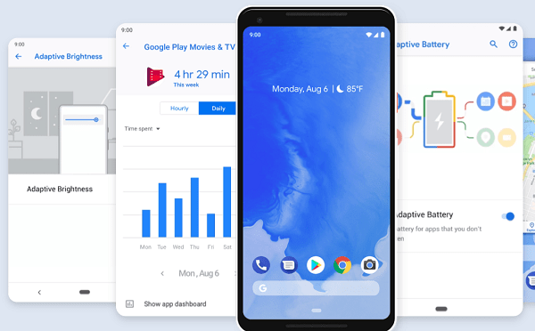 Android 9.0 Pie features