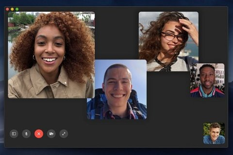 macOS Mojave Group FaceTime Call