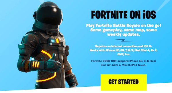 What Iphones Can You Play Fortnite On