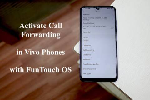Vivo Activate call forwarding waiting