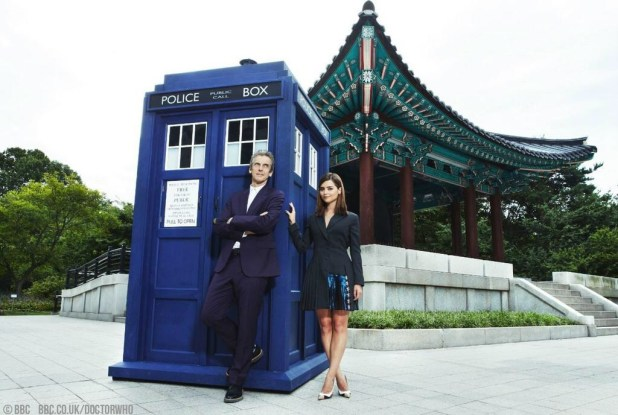 12th Doctor and Clara