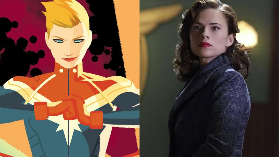 New Captain Marvel Comic from Agent Carter Writers