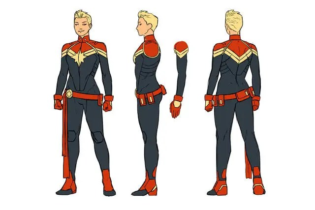 New Carol Danvers look Captain Marvel