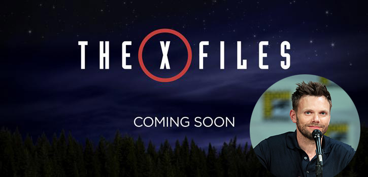 Joel McHale Joins X-Files Reboot