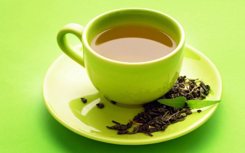green tea home made health