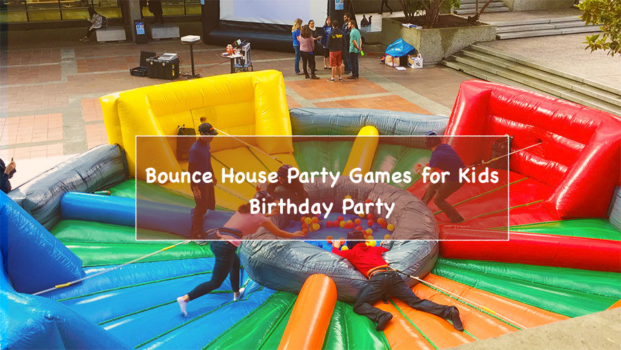 5 bounce house party games for your kid s birthday the general post