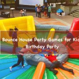 Bounce House party games for kids birthday