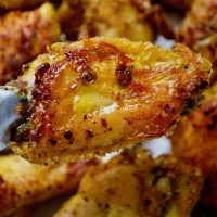 Adobo Seasoned Crack Wings