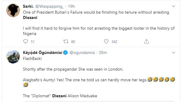 Nigerians react to former Minister of Petroleum,  Diezani Alison-Madueke
