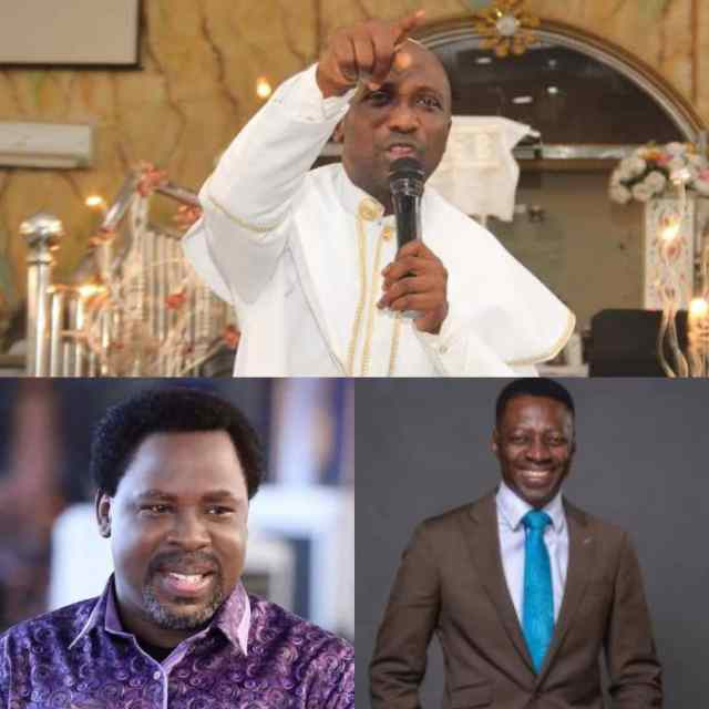 COVID-19: Primate Ayodele Blasts TB Joshua, Pastor Sam Adeyemi Over Church Reopening
