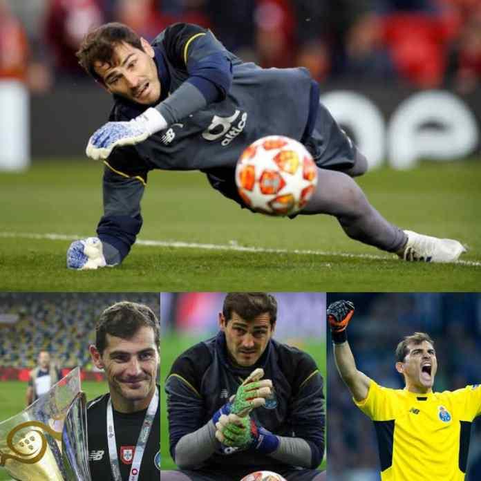BREAKING: Real Madrid Legend, Iker Casillas Hangs Gloves After 22-Year Playing Career,