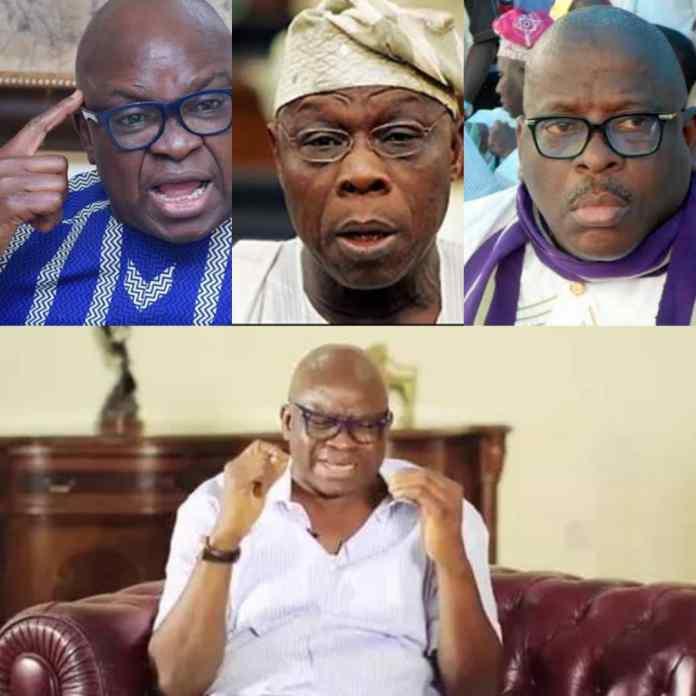 BURUJI KASHAMU: Your End Will Also Come – Fayose Mocks Obasanjo