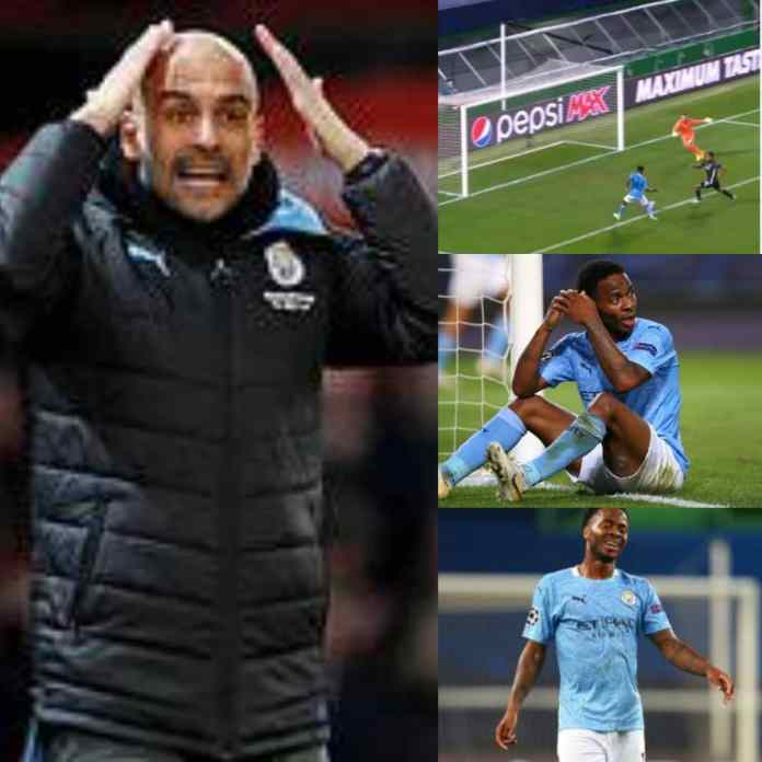 GLORIOUS MISS: Pep Guardiola, Social Media Reacts To Raheem #Sterling Shocking Miss Following #UCL Exit