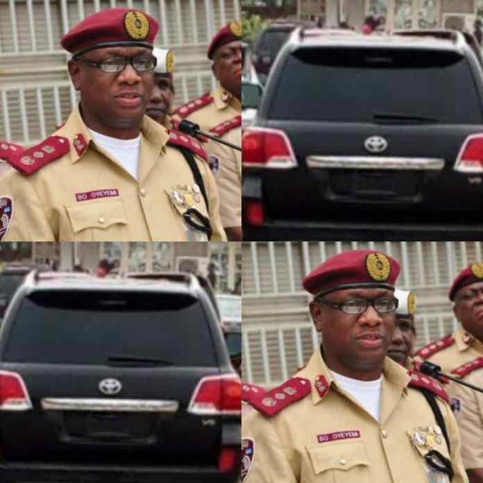 FRESH: FRSC Warns Politicians Against illegal Covering Of Number Plates, Threatens To Impound Such Vehicles