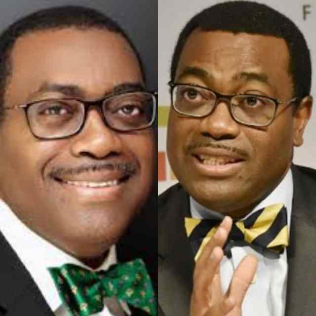 #AFDBUpdate: Akinwunmi Adesina Re-elected As President