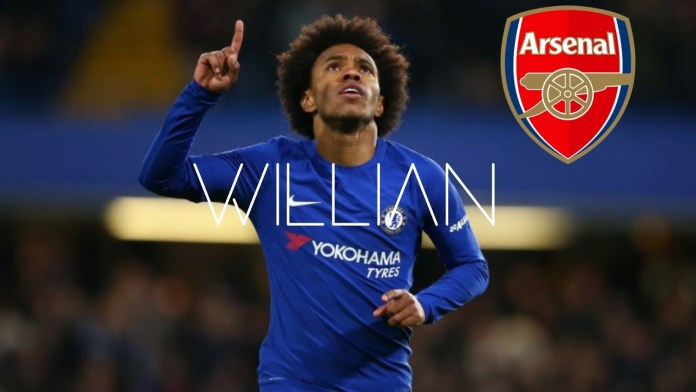 BREAKING: Willian Borges Undergoes Medical With Arsenal [DETAILS]
