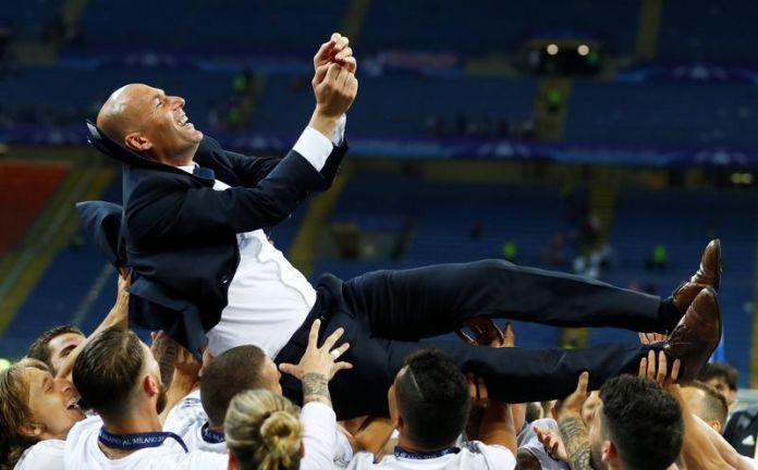 Zinedine Zidane Emerges World Best Manager