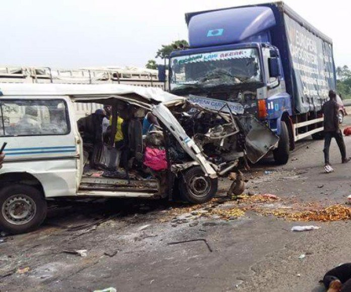 Tragedy In Anambra As Multiple Car Collision Kills 4, Injures Many