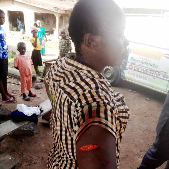 How APC Chairman Reportedly Stabs Woman In Oyo (Photo)
