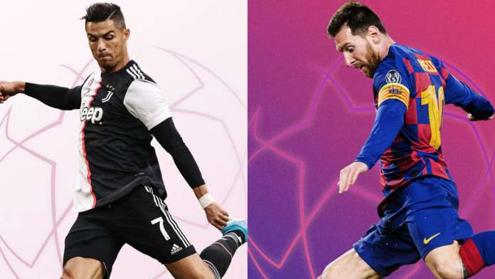 2020/21 Champions League Draw: Lionel Messi Vs Ronaldo In Group Stage