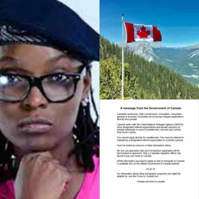 DJ Switch Asylum: 'We Don't Accept Refugee Applications From People' - Canada - #LekkiMassacre