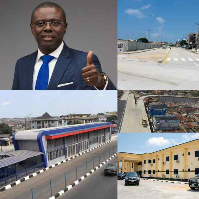 PHOTOS: Examining Governor Sanwo-Olu's 600 Days Of Making Lagos Greater