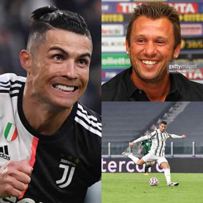 Cristiano Ronaldo Is A Selfish Player In Goal Scoring, Says Antonio Cassano