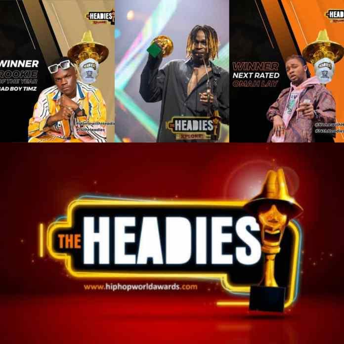 BREAKING: Bad Boy Timz, Fireboy And Omah Lay Win First-Ever Award - #14thHeadies