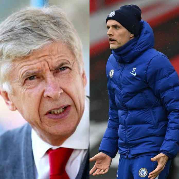 Wenger State Reasons Why Chelsea Will Not Finish In Top Four Under Tuchel