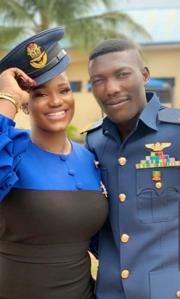 Inconsolable Fiancée Of Late NAF Pilot Flt Lt Taiwo Olufemi Asaniyi Bids Emotional Farewell