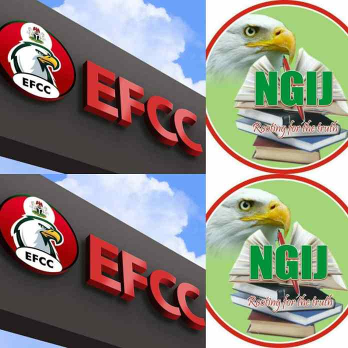 EFCC Chairman Attends NGIJ Workshop, Cautions Journalists on Media Trial