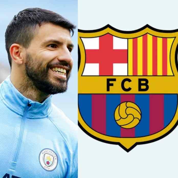 BREAKING: Mancity Legend, Sergio Aguero Joins Barcelona