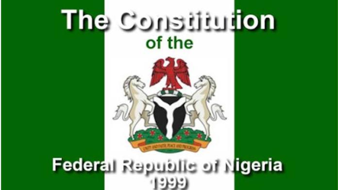 As Nigeria's 1999 Constitution Amendment Begins