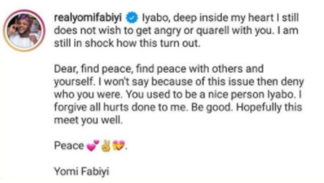 Actor Yomi Fabiyi Apologize To Iyabo Ojo Over Baba Ijesha's Saga