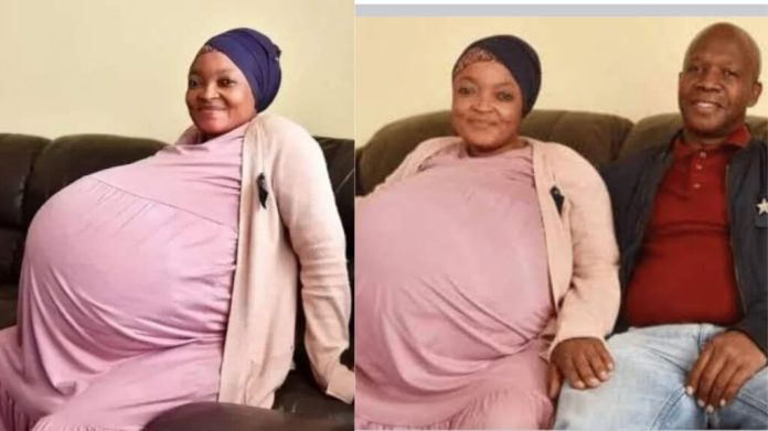 OMG!!! 37-Year-Old Mother Gives Birth To 10 Babies [PHOTO]