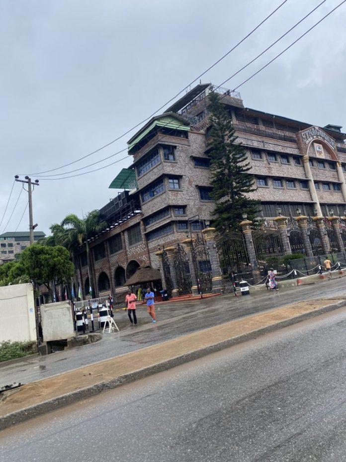 Synagogue Remains Shut Down Ahead Of TB Joshua's Burial [PHOTO]