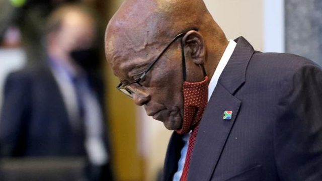 BREAKING: Ex-President Jacob Zuma Jails For Contempt Of Court