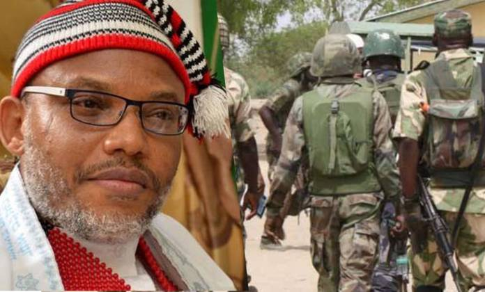 BREAKING: Nnamdi Kanu Says Any Army Sent To #Biafraland Will Die There - #IamIgboToo