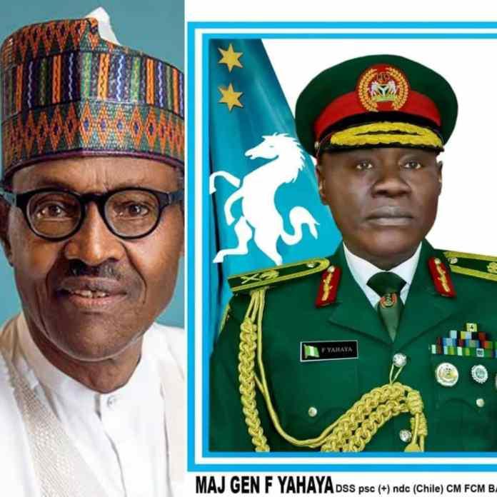 BREAKING: Buhari Speaks On Why He Appointed Farouk Yahaya As COAS
