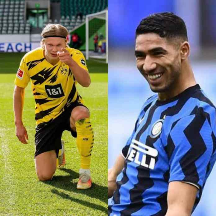 SUMMER TRANSFER: Chelsea Set To Land Haaland And Hakimi